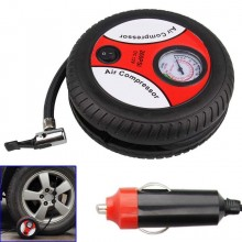 (Ready Stock) Portable 12V Mini Electric Air Compressor Car Tire Inflator Pump Emergency Tools