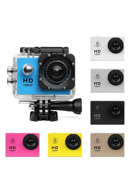 (Ready Stock) HD 1080P Action Camera Sports DV Camcorder Helmet Cam 30m Waterproof