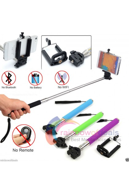 (Ready Stock) Extendable Handheld Telescopic Monopod Holder For Camera iPhone Android