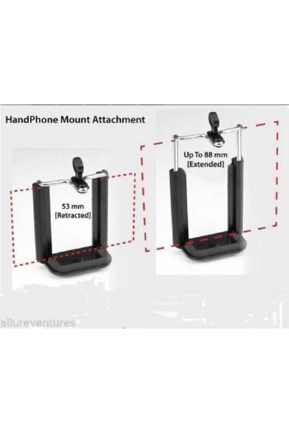 (Ready Stock) Extendable Monopod Holder All Type Mobile Phone Camera iPhone Android