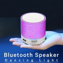 (Ready Stock) Bluetooth LED Sound Speaker Stereo Portable Wireless Mini TF FM USB Outdoor New