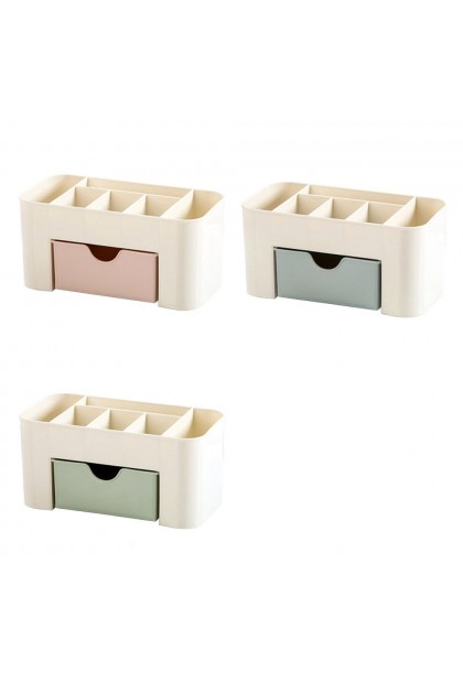 (Ready Stock) Desk Storage Box Holder Jewelry Makeup Cosmetic Insert Drawer Organizer Case New