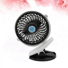 (Ready Stock) 360° Portable Camping Fan Rechargeable USB Clip On Mini Desk Fan Pram Cot Car
