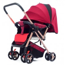 (Ready Stock) Stroller Lightweight Folding Seat Reclining Baby Children Hand Push Umbrella Two-Way