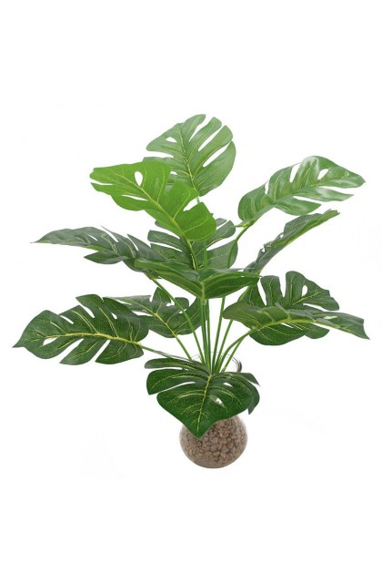 Durable Plants For The Garden: (Ready Stock) Large Size Faux Monstera Plant Leaf