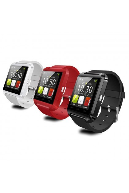 (Ready Stock) U8 Bluetooth Smart Watch Mate Sport Watch For Apple Android Phone