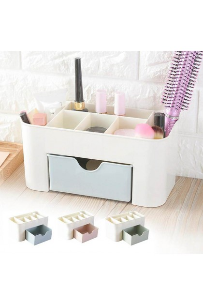 (Reject Item) Desk Storage Box Holder Jewelry Makeup Cosmetic Insert Drawer Organizer Case New