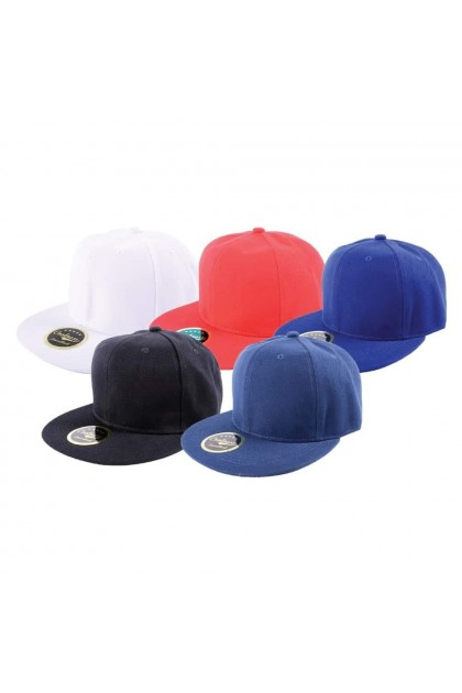 (Ready Stock) Premium Hip Hop Baseball Snapback Cap With Sticker