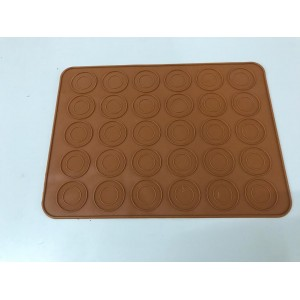 (Ready Stock) 30-Cavity Pastry Muffin Cake Macaron Oven Baking Mould Mold Sheet Mat