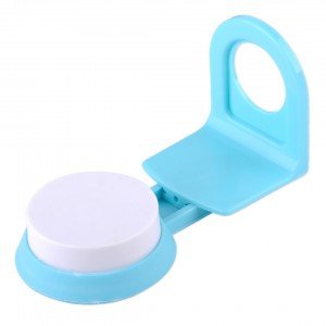(Ready Stock) Suction Cup Rack Shower Gel Shampoo Soap Liquid Wall Mount Holder Bathroom Shelf