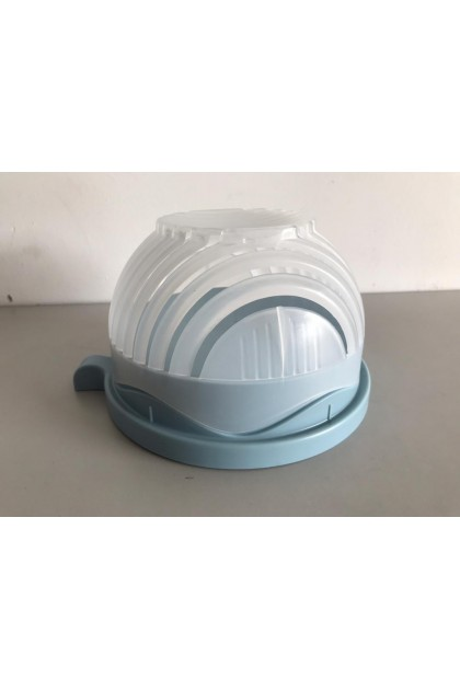 (Ready Stock) The Cutter Bowl 60 Seconds Easy Salad Maker Kitchen Tools Fruit Vegetable