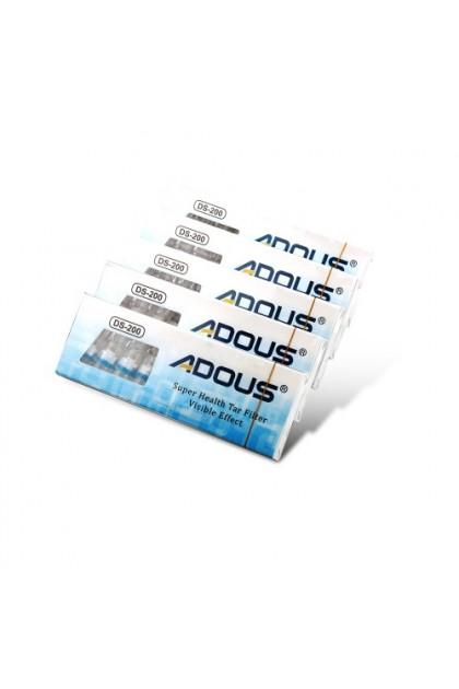 (Ready Stock) 100Pcs ADUOS Disposable Cleaning Reduce Tar Smoke Tobacco Filter Cigarette Hold