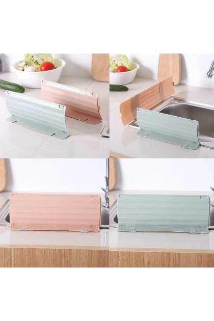 (Ready Stock) Retractable Sink Water Splash Guard Anti-splash Board Kitchen Accessories