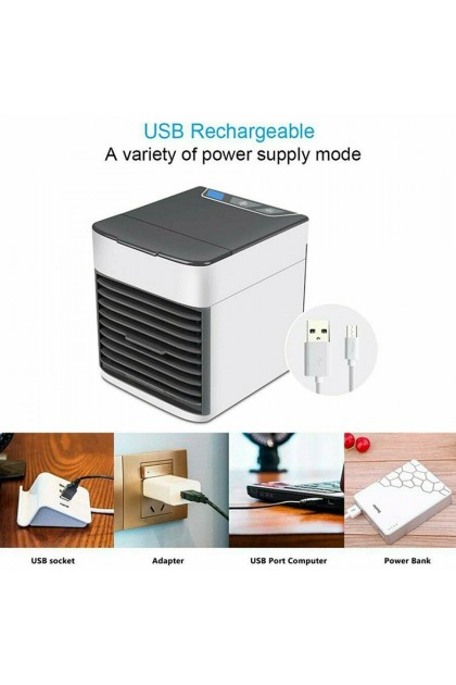 (Ready Stock) Mini Fan Arctic Air Ultra Compact Portable Cooler USB Air Conditioner Home Use
