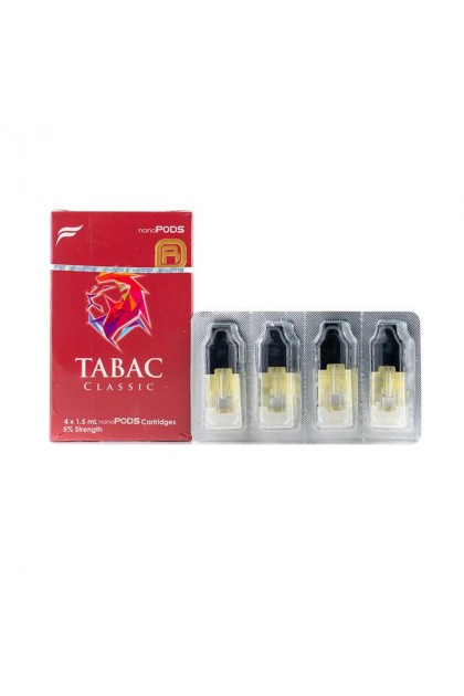 (Ready Stock) 4pcs Pods Tabac Flavor NanoSTIX NanoPod Replacement Cartridges