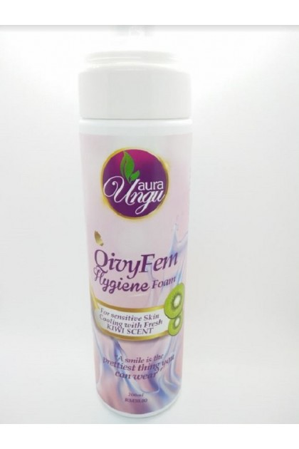 (Ready Stock) Auraungu QivyDem Hygiene Foam Femimine Hygiene Make Up Remover