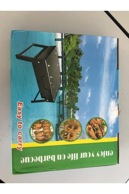 (Ready Stock) Grill BBQ Outdoor Portable Stove Foldable Folding Charcoal Camping Barbecue Oven