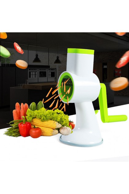 Multifunction Shredder Hand Crank Household Chopping Vegetable Cutting Machine Kitchen