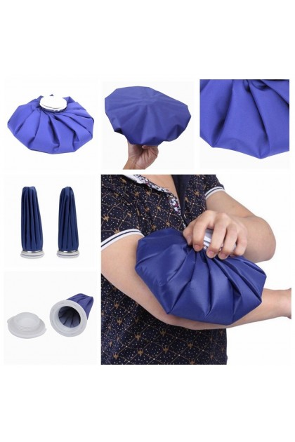 (Ready Stock) 12 Inch Ice Bag Heat Cold Therapy Pack Sports Injury Neck Knee Headache