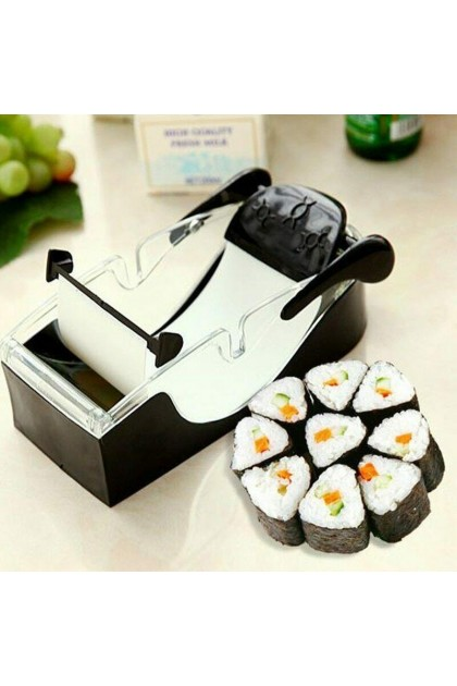 (Ready Stock) Magic Sushi Maker Sushi Mold Roll Tool DIY Kitchen Perfect Cutter Roller