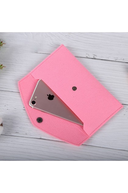 [MSIA SELLER] Wallet Phone Case Cover Coins Women Long Purse Fold Over