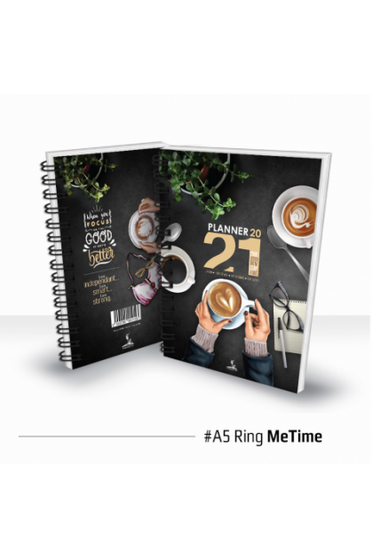 2021 Planner Diary | [5 x FREE GIFT] Ring Binder Daily Weekly Monthly Organizer Calendar Scheduel Appointment
