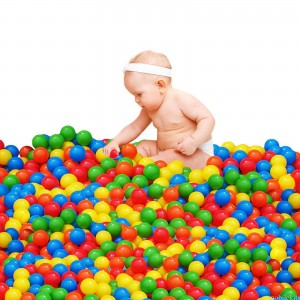 200pcs Kids Baby Soft Play Balls Toy for Ball Pit Swim Pit Ball Pool Colorful