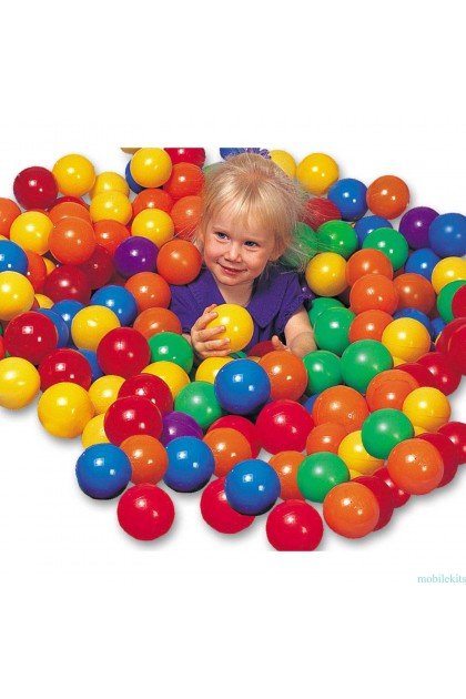 (Ready Stock) 200pcs Kids Baby Soft Play Balls Toy for Ball Pit Swim Pit Ball Pool Colorful