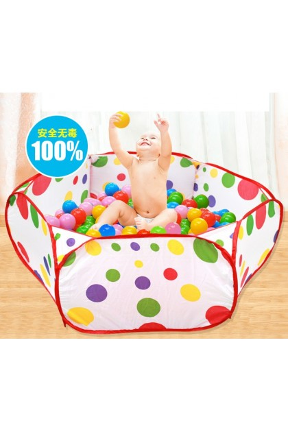 (Ready Stock) Children Folding Ocean Ball Pit Holder Portable Outdoor Indoor