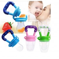"""HOT ITEM"" 6 Months+ Feeding Pacifier Baby Fresh Food Fruits Soup Feeder Bite Bag Dummy"