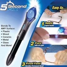 (Ready Stock) Super Power 5 Second Fix UV Light Repair Tool Glue Refill Liquid Plastic Welding