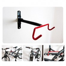 (Ready Stock) Cycling Bike Storage Garage Wall Mount Rack Hanger Bicycle Steel Hook Holder