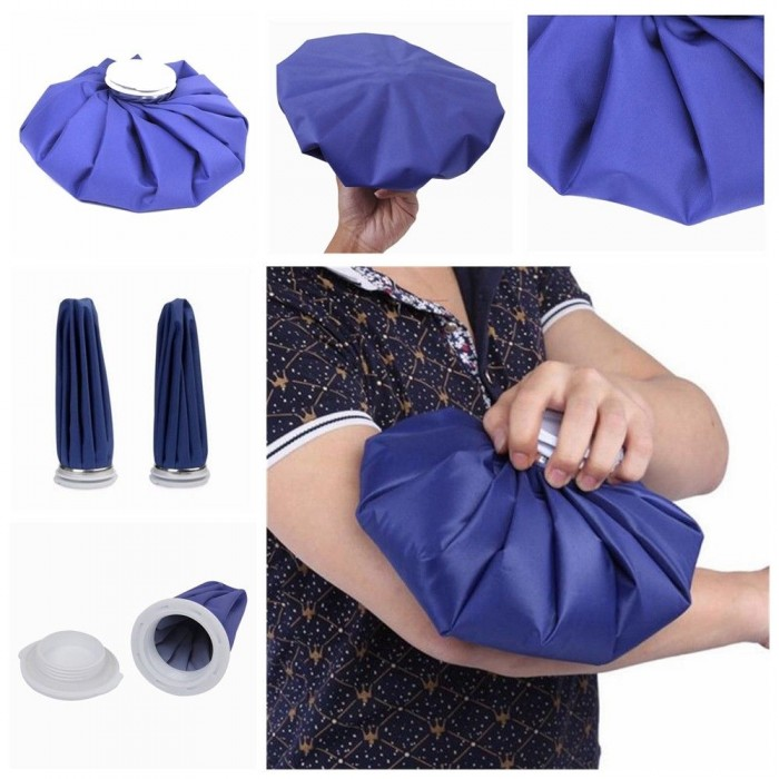 Ready Stock Ice Bag Heat Cold Therapy Pack Sports Injury Neck Knee Headache Pain Relief