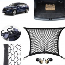 (Ready Stock) Car Cargo Rear Trunk Storage Luggage Swing Elastic Mesh Net Holder