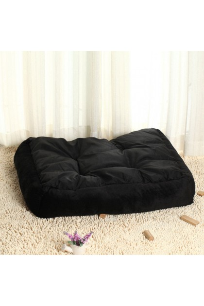 (Ready Stock) Large Warm Fleece Pet Dog Kennel Cat Puppy Bed Mat Pad