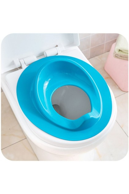 (Ready Stock) Blue Potty Training Toilet Seat Portable Trainer Chair For Baby Toddler Kids