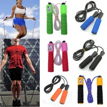 (Ready Stock) Steel Wire Speed Skipping Jump Rope Adjustable Crossfit Fitnesss