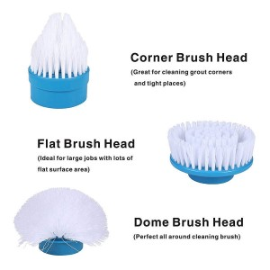 (Ready Stock) Turbo Scrub 360 Electric Cordless Handheld Cleaning Brush Scrubber for Bathroom