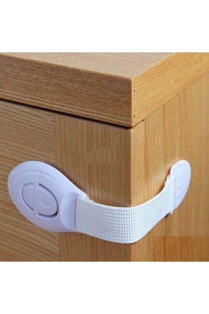 (Ready Stock) 5Pcs Baby Drawer Lock for Kids Protector Safety On Cabinet Lock
