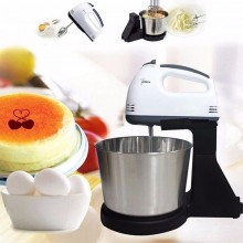 (Ready Stock) 7 Speed Kitchen Handheld Mixer Electric Powered Whisk Egg Beater, Cake & Baking